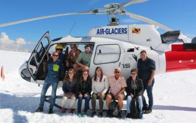 Heliflug aufs Jungfraujoch!
